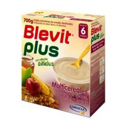 BLEVIT PLUS MIEL FRUTOS SECOS Y MIEL  300 G