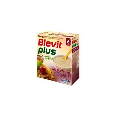 BLEVIT PLUS MIEL FRUTOS SECOS Y MIEL  600 G
