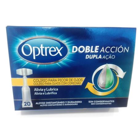 OPTREX DOBLE ACCION PICOR DE OJOS 20 U