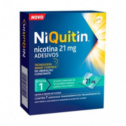 NIQUITIN CLEAR 21 mg/24 HORAS PARCHES TRANSDERMICOS