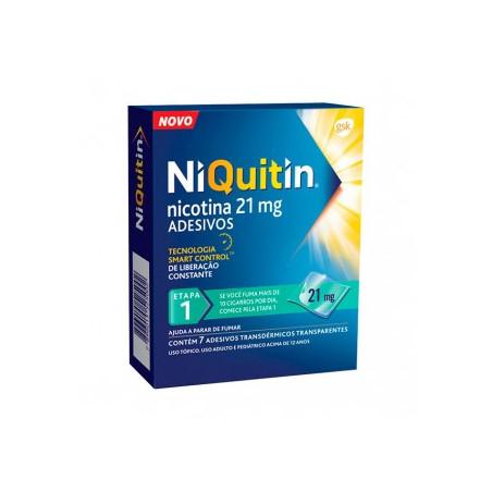 NIQUITIN CLEAR 21 mg/24 HORAS PARCHES TRANSDERMICOS