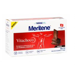MERITENE VITACHOCO  30 TABLETAS 5 G CHOCOLATE CON LECHE