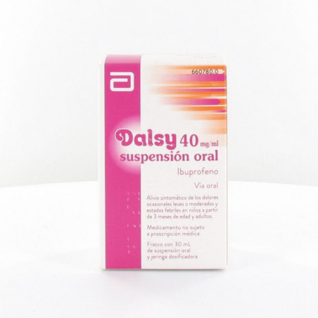 DALSY 40 mg/ml SUSPENSION ORAL