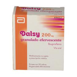 DALSY 200 mg GRANULADO EFERVESCENTE