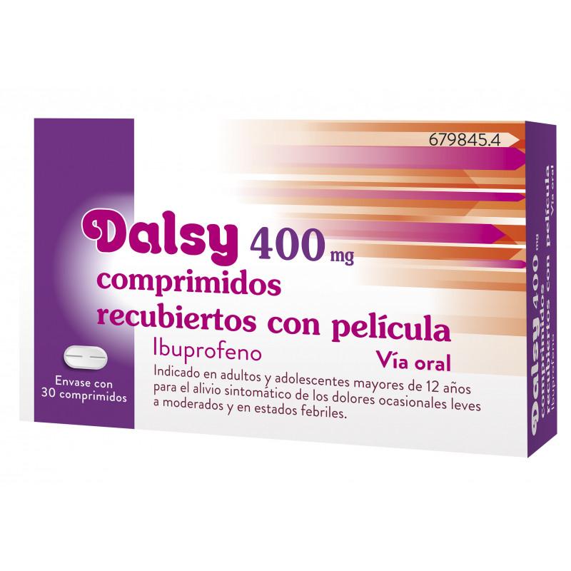 DALSY 400 mg COMPRIMIDOS RECUBIERTOS CON PELICULA
