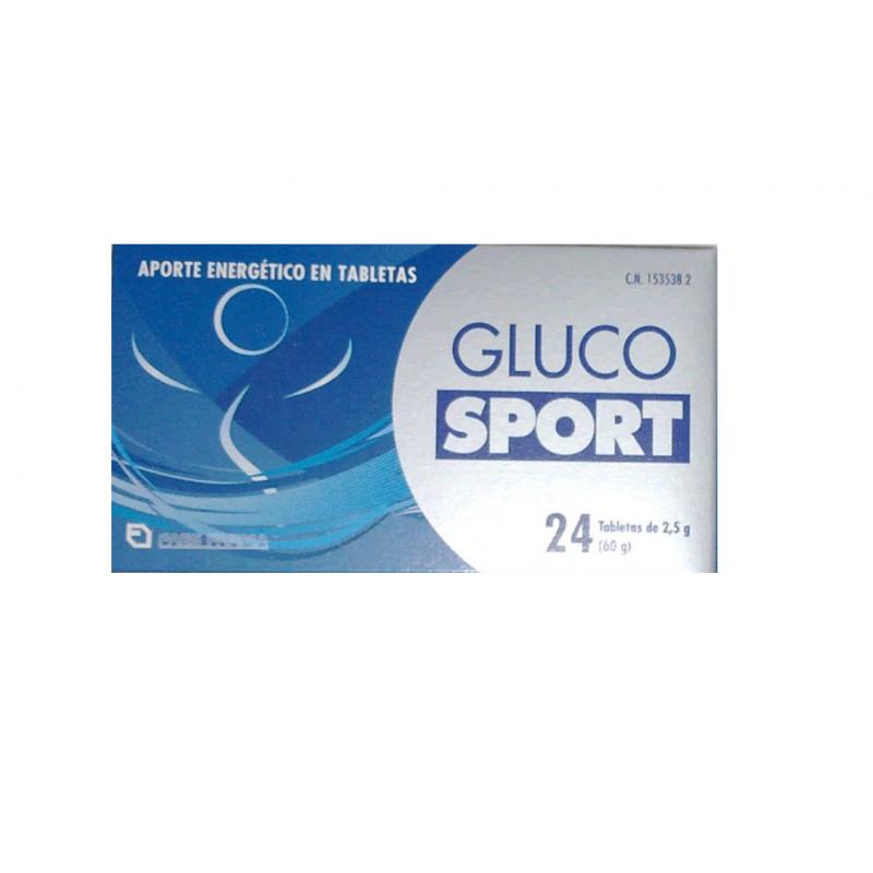 GLUCOSPORT COMPRIMIDOS 2.5 G 24 COMPRIMIDOS