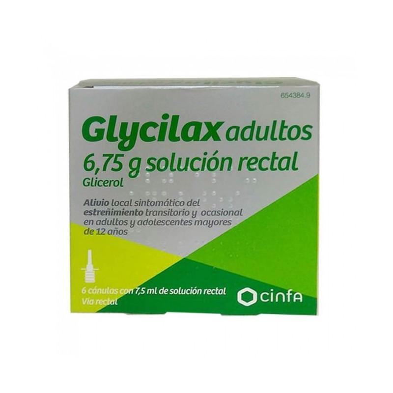 GLYCILAX ADULTOS 6,75 g  SOLUCION RECTAL