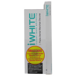I WHITE PASTA MANCHAS OSCURAS  75 ML + CEPILLO DENTAL DE REGALO