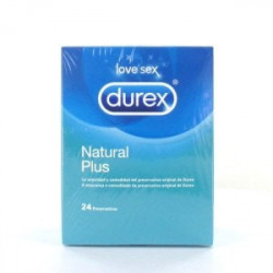 DUREX NATURAL PLUS 24U