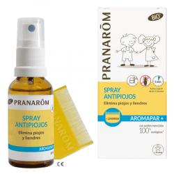 PRANAROM AROMAPAR SPRAY ANTIPIOJOS BIO + LENDRERA