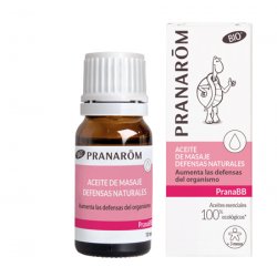 PRANABB ACEITE DE MASAJE BIO DEFENSAS NATURALES 10ML