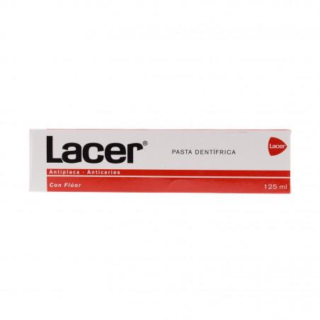 LACER PASTA CON FLUOR 125 ML + 25ML DE REGALO