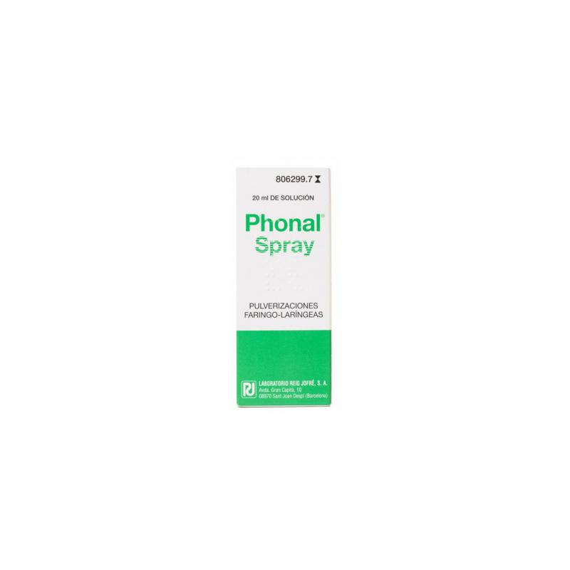 PHONAL SPRAY BUCAL 20ML