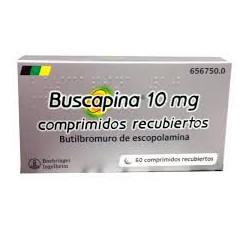 BUSCAPINA 10 mg COMPRIMIDOS RECUBIERTOS