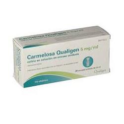 CARMELOSA QUALIGEN 5 MG/ML COLIRIO EN SOLUCION EN ENVASES UNIDOSIS