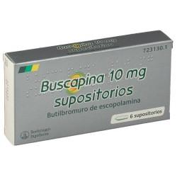 BUSCAPINA 10 mg SUPOSITORIOS