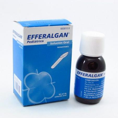 EFFERALGAN PEDIATRICO SOLUCION ORAL