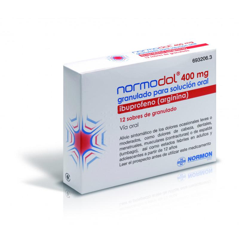 NORMODOL 400 mg GRANULADO PARA SOLUCION ORAL EFG
