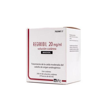 REGAXIDIL 20 mg/ml SOLUCION CUTANEA