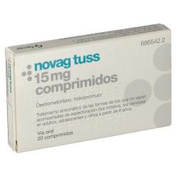 NOVAG TUSS 15 mg COMPRIMIDOS