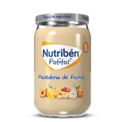 NUTRIBEN POTITOS MACEDONIA DE FRUTAS 235G