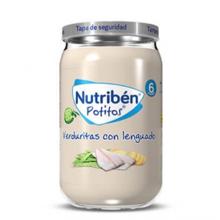 NUTRIBEN POTITOS VERDURITAS CON LENGUADO 235G