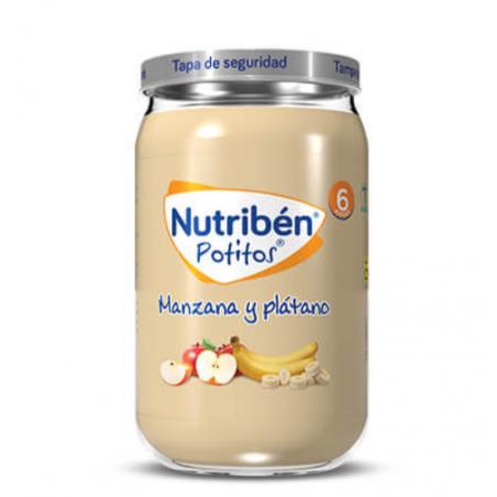 NUTRIBEN MANZANA Y PLÁTANO 235G