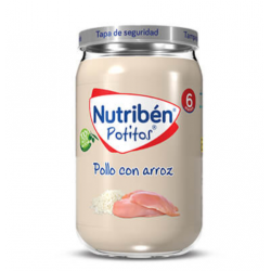 NUTRIBEN POTITO POLLO CON ARROZ 235G