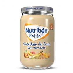 NUTRIBEN POTITOS MACEDONIA DE FRUTAS CON CEREALES 235G