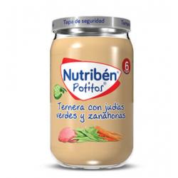 NUTRIBEN TERNERA CON JUDÍAS VERDES Y ZANAHORAS 235G