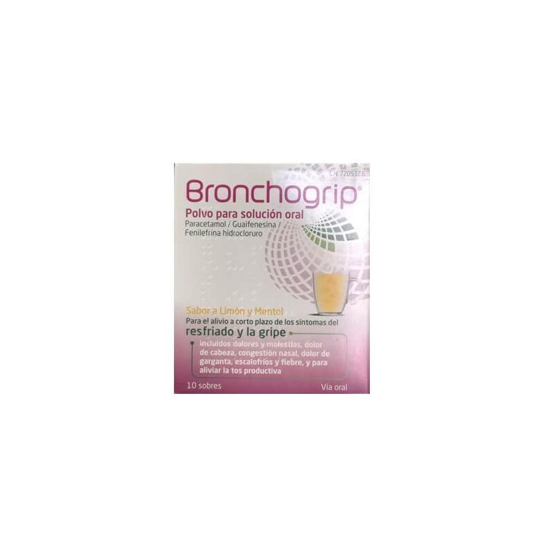 BRONCHOGRIP RESFRIADO 10 SOBRES