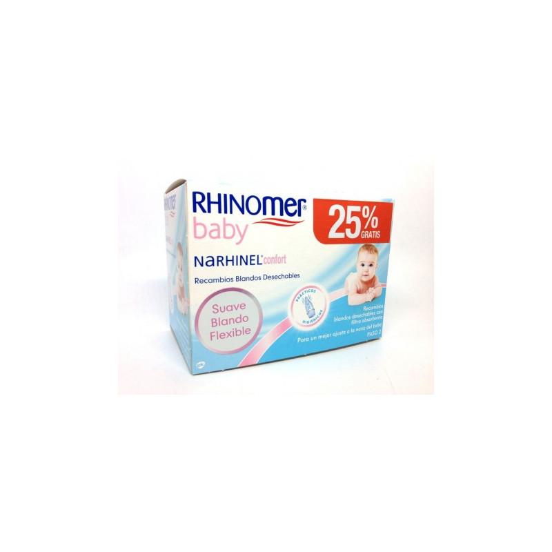 RHINOMER BABY RECAMBIOS BLANDOS 20 UNIDADES