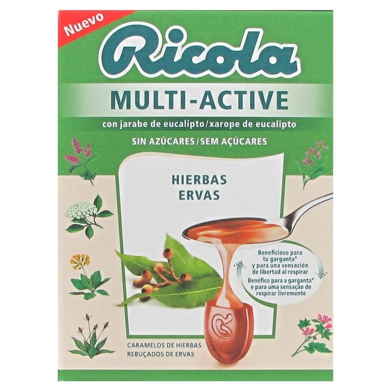 RICOLA MULTI ACTIVE HIERBAS CARAMELOS