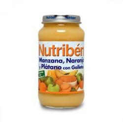 NUTRIBEN 250 MANZANA NARANJA PLATANO Y GALLETA GRANDOTE 250 G
