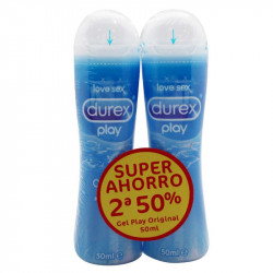 DUREX PLAY LUBRICANTE ORIGINAL DUPLO 50ML