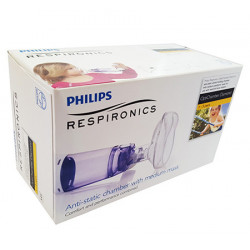 PHILIPS OPTICHAMBER DIAMOND CÁMARA DE INHALACIÓN CON MASCARILLA INFANTIL