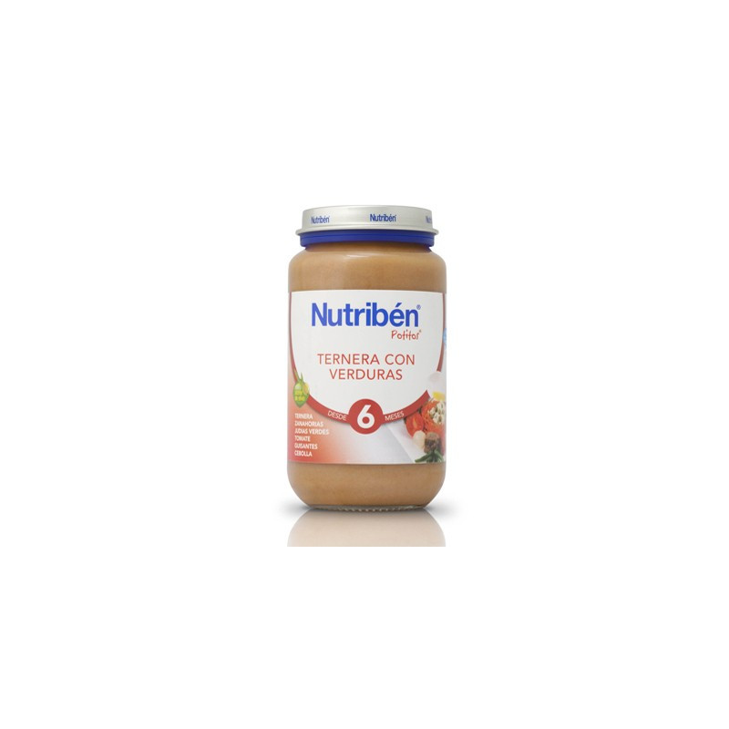 NUTRIBEN 250 POLLO TERNERA VERDURA GRANDOTE 250 G