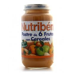NUTRIBEN 250 POSTRE 6 FRUTAS CON CEREALES GRANDOTE 250 G