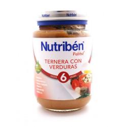 NUTRIBEN 250 TERNERA CON VERDURA GRANDOTE 250 G