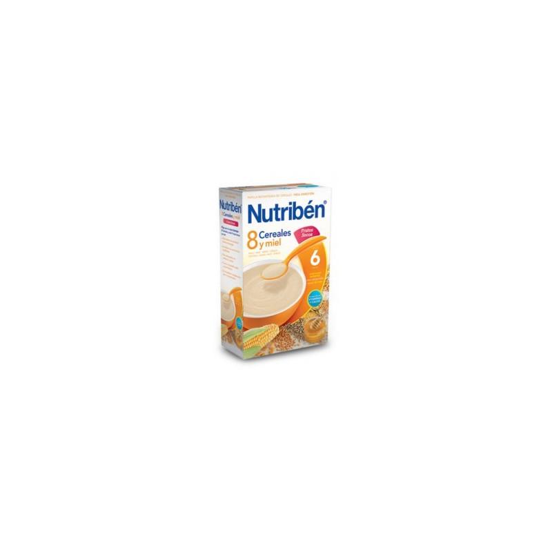 NUTRIBEN 8 CEREALES Y MIEL FRUTOS SECOS 600 G