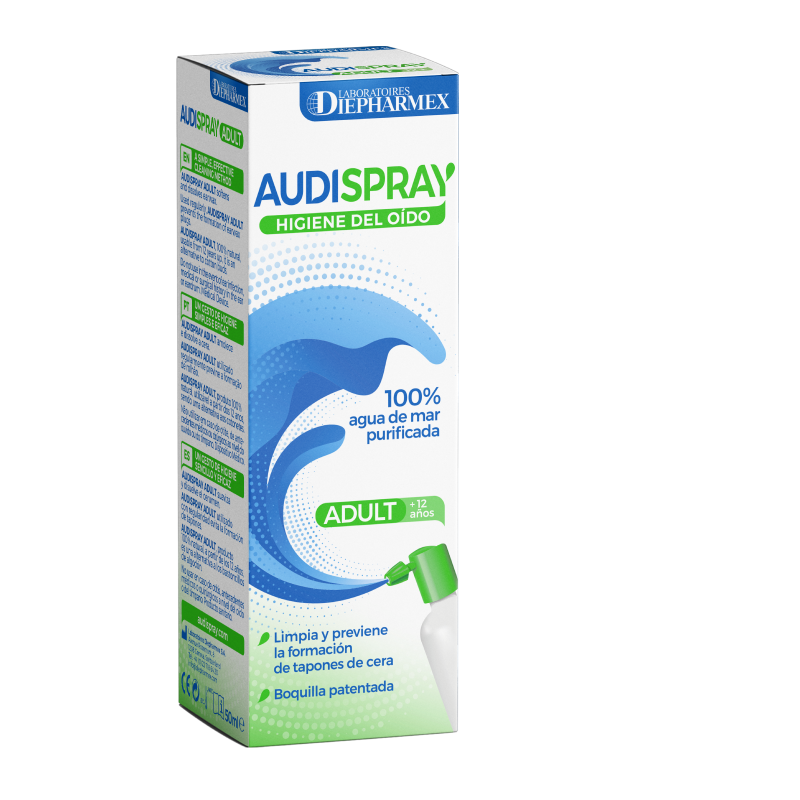 AUDISPRAY HIGIENE OÍDO ADULTO 50ML