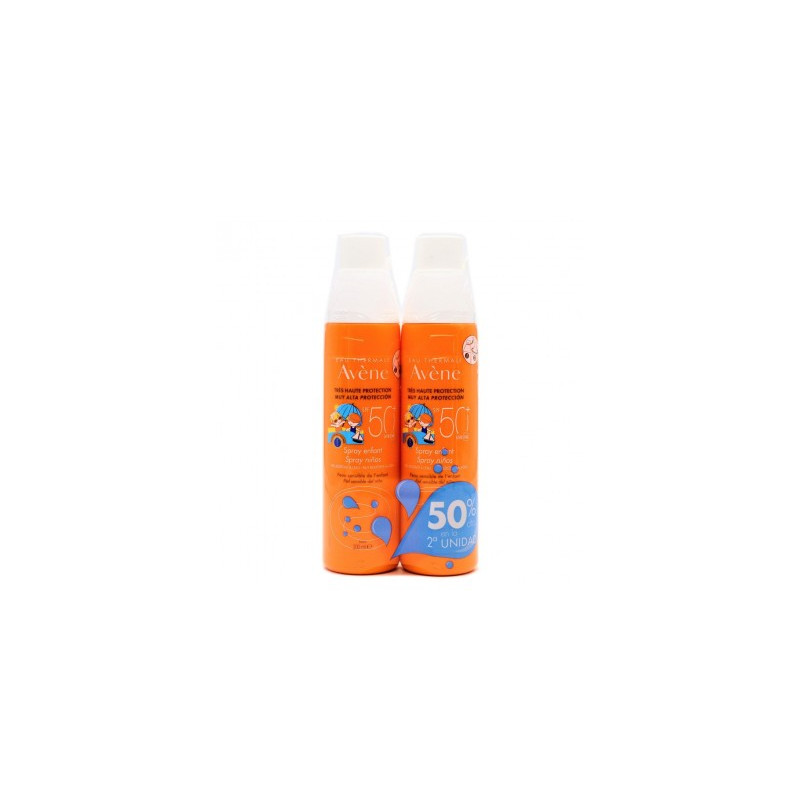 AVENE SOLAR FACTOR 50+ SPRAY NIÑOS 200ML