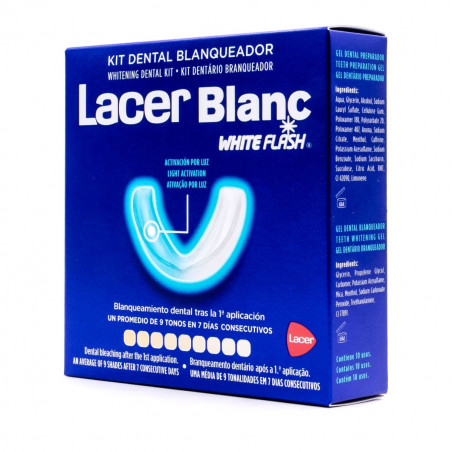 LACER KIT DENTAL BLANQUEADOR 10 USOS