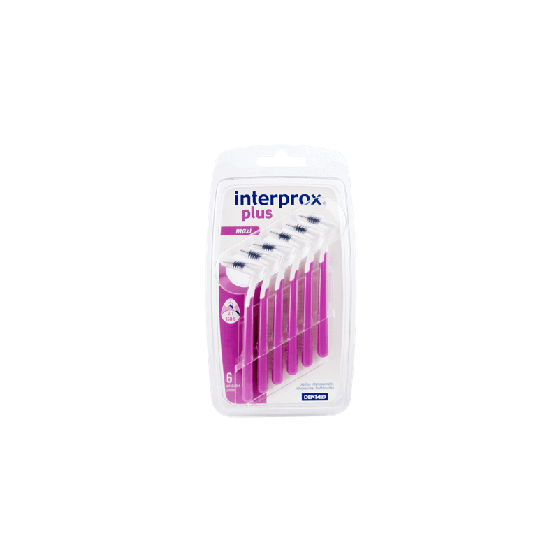 INTERPROX CEPILLO PLUS MAXI 2,1 mm 6 u