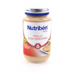 NUTRIBEN JUNIOR POLLO CON VERDURAS JUNIOR 200 G