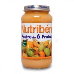 NUTRIBEN JUNIO POSTRE 6 FRUTAS JUNIOR 200 G