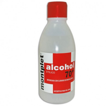 MONTPLET ALCOHOL 70º 250 ML