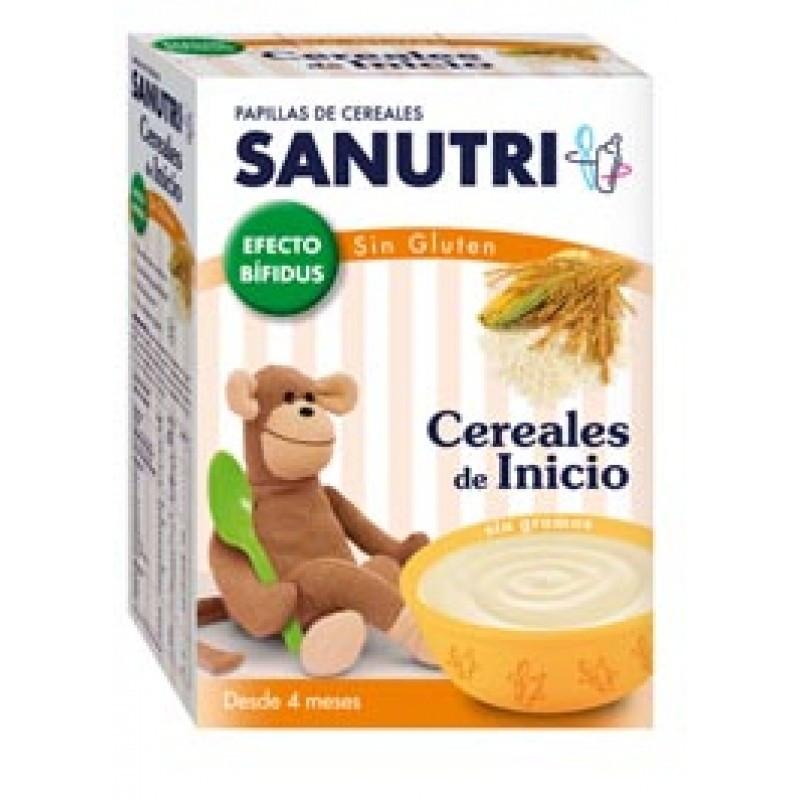 SANUTRI PAPILLA CEREALES SIN GLUTEN EF BIFIDUS 600 G