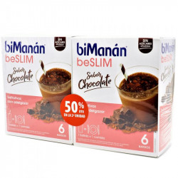 BIMANAN beSLIM BATIDOS CHOCOLATE DUPLO 6U+6U