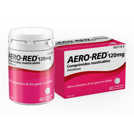 AERO-RED 120 mg COMPRIMIDOS MASTICABLES